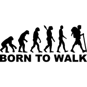 evolution-hiking